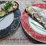 recette Tartine nordique au hareng