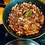 recette Matelote de cagouilles (escargots) à la charentaise