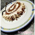 recette Bûche de Noël au chocolat et crème de vanille