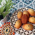 recette Madeleine coeur chocolat