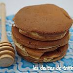 recette pancakes légers au fromage blanc