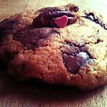 recette Cookies aux noix de pécan et pépites de chocolat au lait