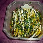 recette anchois mariné