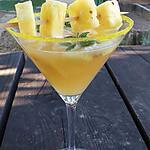 recette Sangria pétillante à l'ananas