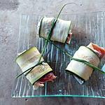 recette bouché de courgette roulé au jambon