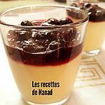recette Crème custard au lait de coco et sa compote de fruits rouges