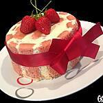 recette Charlotte aux fraises crème bavaroise