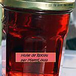 recette Huile de Rocou