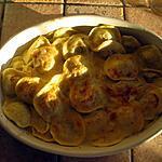 recette Cassolette de ravioles