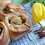 recette Brioche à la pomme et noix de Pécan