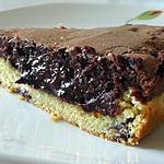 Brownie au derrière aux cookies