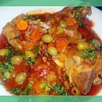 recette Cocotte de veau aux olives vertes