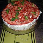 recette cheesecake au fraises