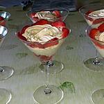 recette tartare de fraise a la crème diplomate