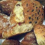 recette Petits pains au lard et aux oignons