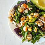recette Salade au surimi