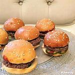 recette Mini burgers au bacon