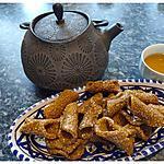 recette Babouches, blighates au sésame et miel
