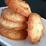 recette Palets à la noix de coco (rocher)