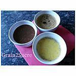 recette Pots de crème, café, vanille, chocolat