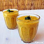 recette Gaspacho carotte courgette cumin