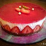 recette Bavarois façon fraisier