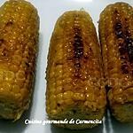 recette Epis de maïs frais grillés au beurre salé