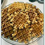 recette GAUFRES A LA FARINE D'ÉPEAUTRE sans beurre et sans sucre