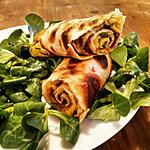 recette Omelettes roulées de Nadiya ( émission a table avec Nadiya Netflix)
