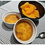 recette Crème Brûlée A La Fleur D'Oranger, Salade D'Oranges