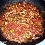 recette Sauce tomates arrangée