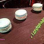 recette Macaron à la menthe