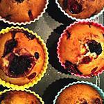 recette Muffins aux Fruits rouges