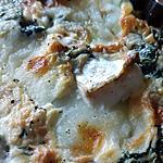 recette Quiche sans pâte aux épinards frais, gorgonzola et mozzarella