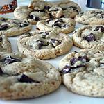 recette Vrais cookies américains moelleux aux pépites de chocolat
