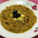 recette Slata méchouia-Fausse méchouia bônoise des salles de fêtes- Ramadan 2021