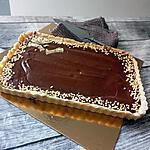 recette Tarte sablée au noix chocolat crème de châtaigne