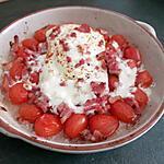 recette Féta rôtis aux tomates cerises