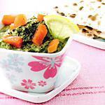 recette Dip d'épinards au saumon fumé