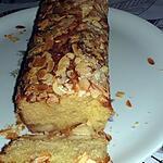 recette Cake à la pâte d'amandes et à la fleur d'oranger de Sophie Dudemaine