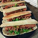 recette Pain a hot dog Américain
