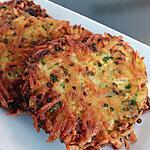 recette Galettes pommes de terre