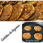 recette GALETTES DE LÉGUMES