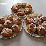 recette Choux à la crème pâtissière vanille et café