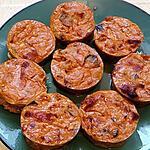 recette petit flans de ratatouille lardons fumé