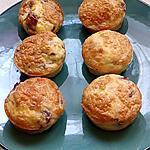 recette muffins aux oeufs pancetta tomates cerise