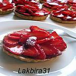 recette mmmm!!Tartelettes aux fraises