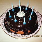 recette Gâteau d'anniversaire,9 ans de Ian