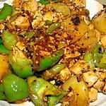 recette Tofu à l'aigre-doux