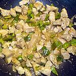 recette Sauté de porc au nouilles chinoises